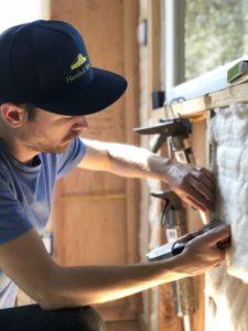 Installing Havelock Wool