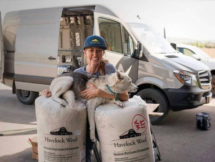 Havelock Wool van insulation that fits all van types